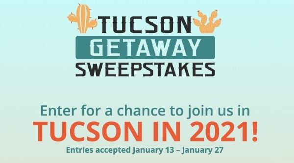 Shop LC Tucson Getaway Sweepstakes - Win Tickets