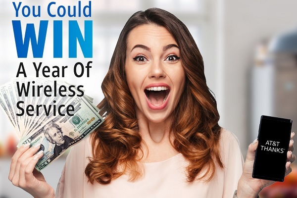 Win AT&T Wireless Service Sweepstakes