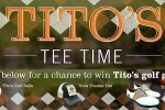 Titos Tee Time Golf Survey Sweepstakes - Win Prize