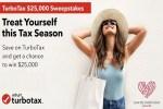 TurboTax $25000 Sweepstakes - Win Cash Prizes