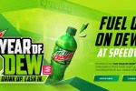 Speedway Year of MTN DEW Sweepstakes - Win Gift Card
