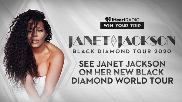 iHeart Janet Jackson Black Diamond World Tour Sweepstakes