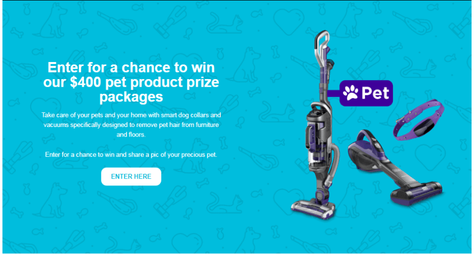 Black & Decker Pet Products Giveaway - Win Prize