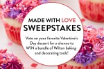Wilton 2020 Made With Love Sweepstakes - Win Prize