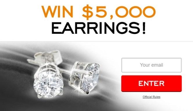 Super Jeweler $5000 Diamond Studs Giveaway