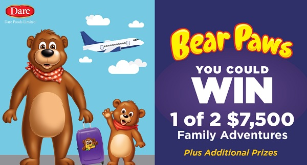Bear Paws Family Adventures Sweepstakes - Win Trip