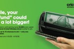 Cricket Wireless Tax Time Sweepstakes - Win Gift Card