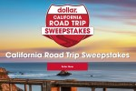 Dollar Car Rental California Road Trip Sweepstakes