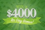 Frankly Media $4000 Tax Day Bonus Sweepstakes