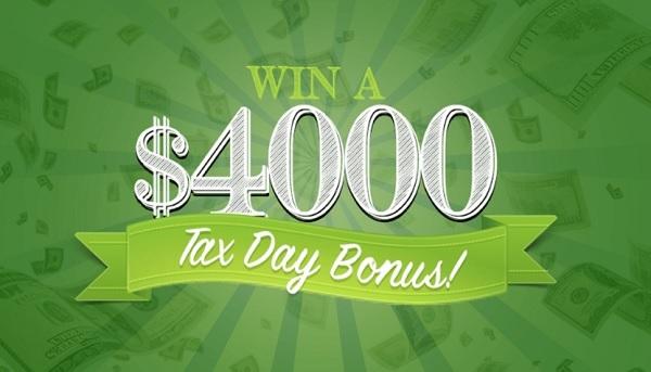 Frankly Media $4000 Tax Day Bonus Sweepstakes