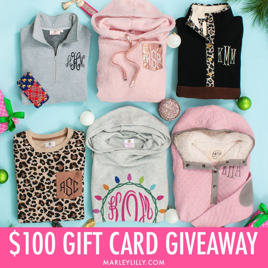Marleylilly $100 Gift Card Giveaway