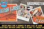 Bassmaster Rebel Retro Lure Giveaway - Win Prize