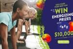 Jazz Apples Kickstart Your New You Sweepstakes - Win Cash Prizes