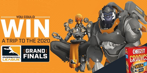 Kelloggs Overwatch League Sweepstakes - Win Trip