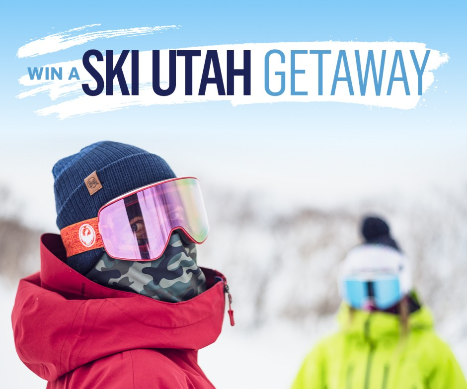 Buff USA Ski Utah Getaway Sweepstakes - Win Trip