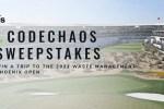 PGA Tour Superstore Adidas Codechaos Sweepstakes
