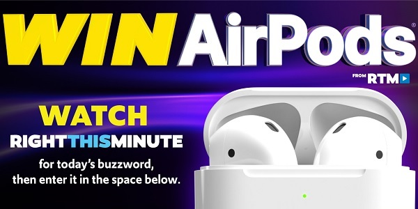 Right This Minute AirPods Sweepstakes