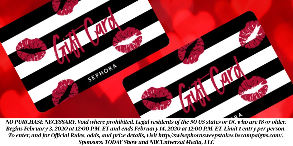 TODAY Stuff We Love and Sephora Sweepstakes