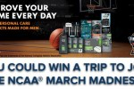 Unilever NCAA March Madness Sweepstakes - Win Trip
