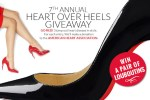Spa Week Heart over Heels Giveaway - Win Prize