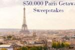 Veranda $50000 Paris Getaway Sweepstakes