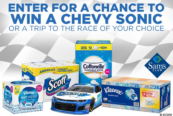 Scott Towels 2020 Chevy Sonic Sweepstakes - Win Prize