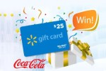 Coca Cola $25 Walmart Gift Card Instant Win Game