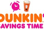 Dunkin Savings Time Instant Win Game and Sweepstakes