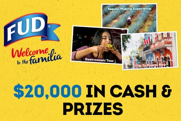 FUD Lent Sweepstakes - Win Cash Prizes