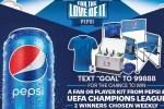 Pepsi 2020 Hispanic Soccer UEFA Sweepstakes