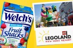 Welch's Fruit Snacks Legoland Sweepstakes - Win Trip