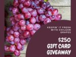 Keepin' It Fresh With Chilean Grapes Giveaway
