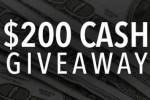 PrizeGrab $200 Cash Giveaway 2020