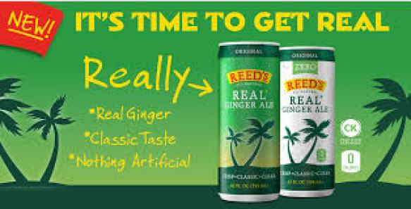 Reed's Real Ginger Ale Sweepstakes