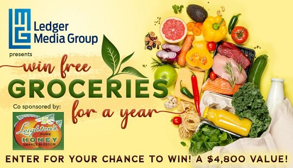 Gannett Media Free Groceries for A Year Sweepstakes