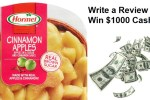 Hormel Side Dishes Review Sweepstakes