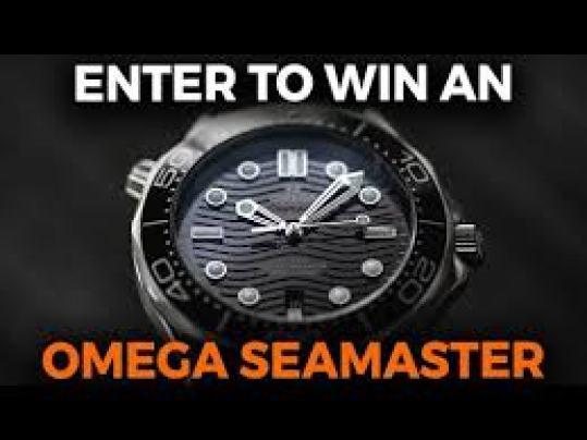 Crown and Caliber OMEGA Speedmaster Giveaway