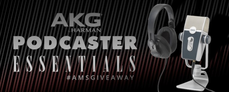 Americanmusical.com - AKG Podcaster Essentials Giveaway