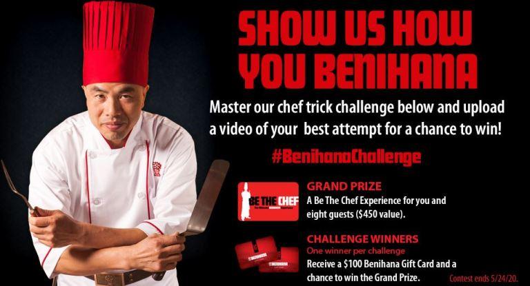 Benihana Challenge 2020 Contest
