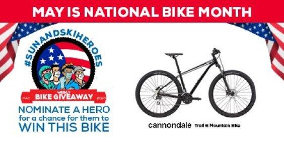 Sunandski.com National Bike Month Giveaway