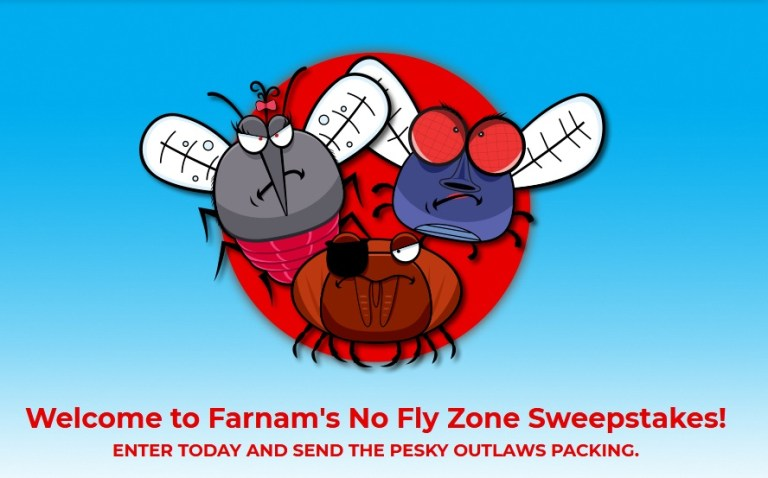 Farnam No Fly Zone Sweepstakes