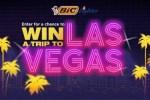 BIC Lighter Trip to Vegas Sweepstakes