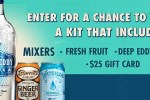 Deepeddyvodka.com At Home Cocktail Kit Sweepstakes