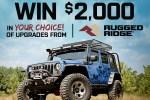 Extreme Terrain Jeep Wrangler Sweepstakes