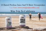10 Barrel Profuse Juice Surf N Brew Sweepstakes