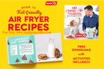 Dash Air Frying for Kids Giveaway
