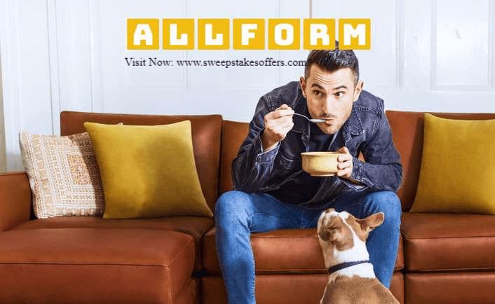 Allform Sofa Giveaway