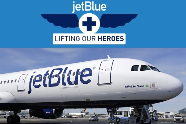 JetBlue Healthcare Heroes Sweepstakes