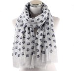 Dogtipper.com - Paw Print Scarf Giveaway