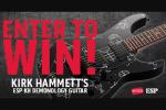 Revolver Kirk Hammett ESP Guitar Giveaway